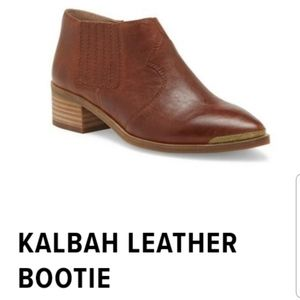 Kalbah leather bootie 8 by Lucky Brand